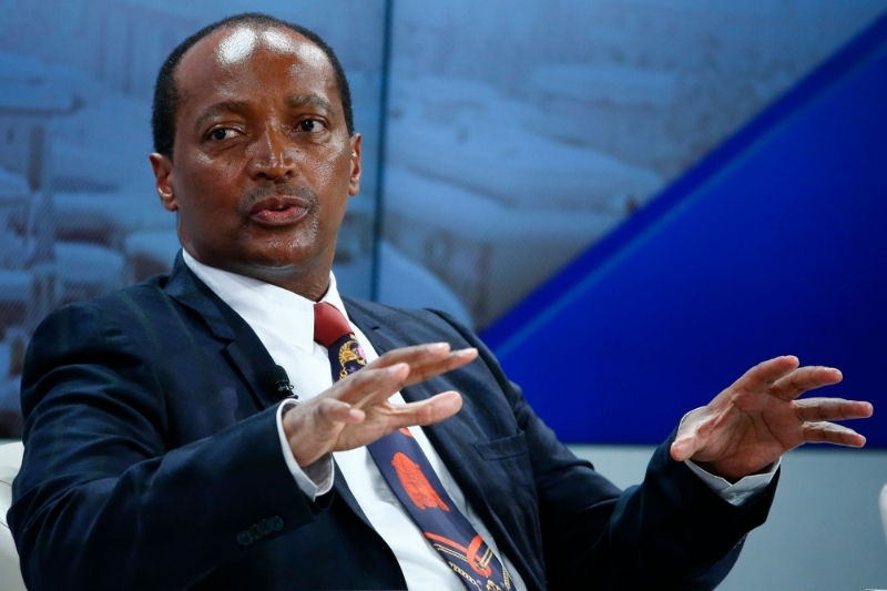 South African mining magnate Patrice Motsepe.